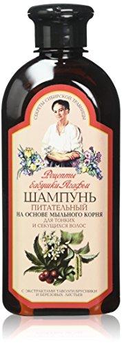 Grandma Agafia Recipes Nourishing Shampoo For Thin and Splitting Hair 350ml