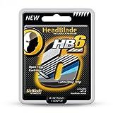 HeadBlade Lot de 4 têtes de rasoir 6 lames