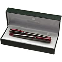 Monteverde–Pistola in metallo/Rosso stilografica/penna a sfera