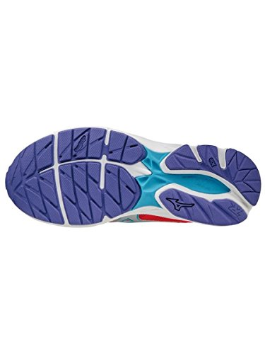 Mizuno Wave Rider 20 Jr, Chaussures de Running Entrainement Fille Fuchsia