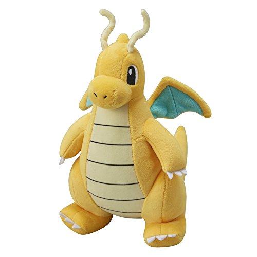 Pokemon Centro Original De La Muñeca De La Felpa Peluch Dragonite / Dracolosse (Pokemon Ir)