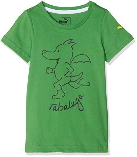 Puma Jungen Tabaluga - Boys Tee T-Shirt, Online Lime, 104