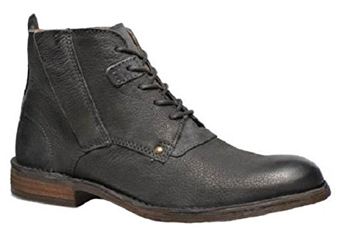 Chaussures bottines model HARRY en cuir par HGilliane Design Eu 33 au 46 Grey