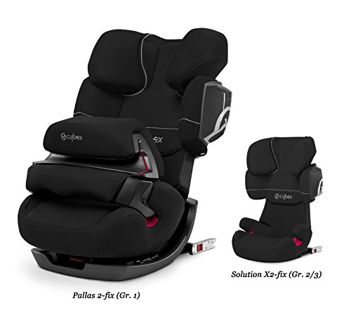 CYBEX Pallas 2-Fix, Toddler Car Seat, Pure Black – Black