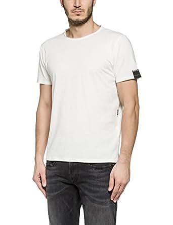 Replay M3030 - T-Shirt - Homme - Blanc (Optical White) - XXL
