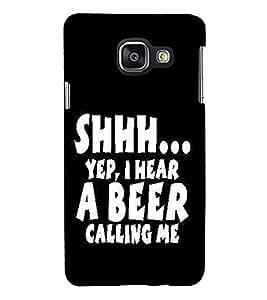 PrintVisa Designer Back Case Cover for Samsung Galaxy A5 (6) 2016 :: Samsung Galaxy A5 2016 Duos :: Samsung Galaxy A5 2016 A510F A510M A510Fd A5100 A510Y :: Samsung Galaxy A5 A510 2016 Edition (Quote Love Heart Messages Crazy Express Sorry )