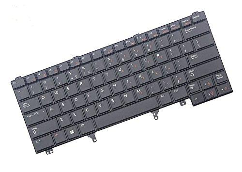 Laptop Tastatur Für DELL Latitude E6220E6320E6420E5420C7fhd 0C7fhd US Layout Schwarz Ohne Mauszeiger keine Hintergrundbeleuchtung