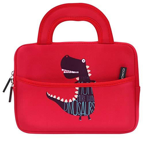 oll Tablet Tasche - Neoprene Handtasche Tragetasche Wallet Bag für All-New Fire 7 2019/2017, Fire HD 8 2016, Fire Kids Edition 7