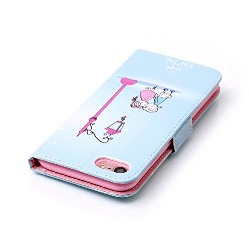 iPhone 7 (4.7 Zoll) Hülle Wallet,iPhone 7 Hülle Leder,iPhone 7 Cover,Schutzhülle für iPhone 7 Leder Wallet Tasche Brieftasche,EMAXELERS iPhone 7 Leder Hülle,iPhone 7 Hülle für Mädchen,iPhone 7 4.7 Inc Girl 7