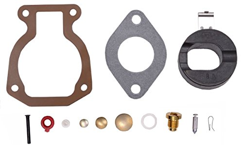 OuyFilters BRP Outboard Carburetor Repair/Rebuild Carb Kit With Float 4-15  hp For Johnson Evinrude 398453