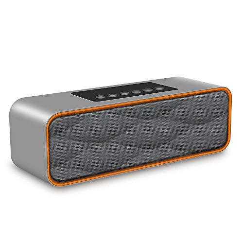 ZXZXZX S1 - Altoparlante Bluetooth Senza Fili con Audio HD e Bassi potenziati, Altoparlante Vivavoce Dual Driver Integrato, Nero