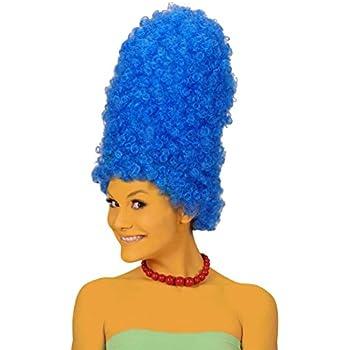 Perruque bleue Marge Simpson perruque de