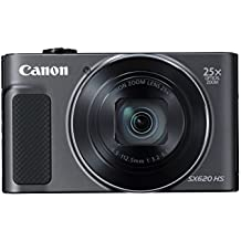 "Canon PowerShot SX620 HS Compact camera 20.2MP 1/2.3"" CMOS 5184 x 3888pixels Black - Digital Cameras (20.2 MP, 5184 x 3888 pixels, CMOS, 25x, Full HD, Black)"
