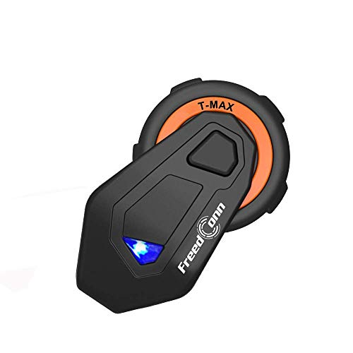FreedConn Interfono Casco Moto Intercom Citofono Cuffie Bluetooth 1500 m FM Radio Wireless Passegero Communicazione