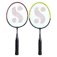 Silver's Unisex Adult Sil-Pedal Combo 4 Kids Aluminum Badminton Racquet - Multicolor, G3
