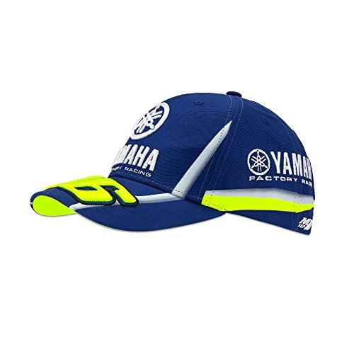 260462cbe1 Yamaha Factory Racing VR|46 Valentino Rossi, cappello da baseball  regolabile, blu