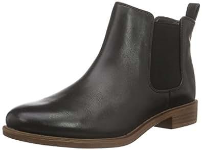 Clarks Taylor Shine, Bottes Classiques Femme, Marron (Tan Leather), 41 EU
