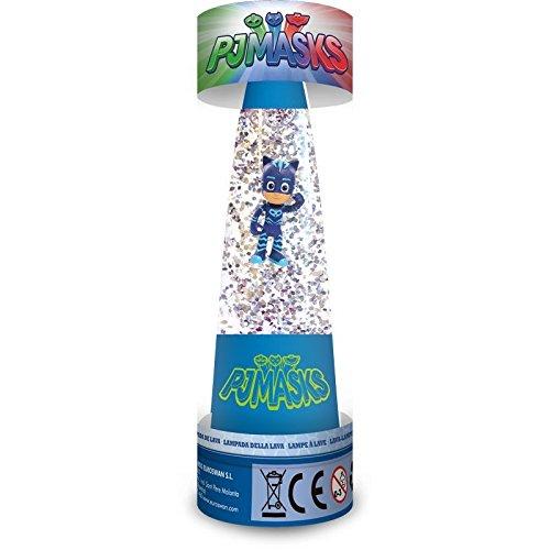 Disney–PJ Masks Lampe Glitter, pj17008 (Disney Neue Pj)