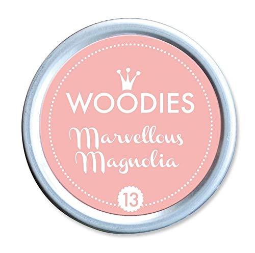Woodies farbstoffbasierter Tinte Dose wundervolles Magnolia, Acryl, mehrfarbig, 3-teilig -