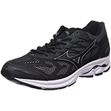Mizuno Men's Wave Rider 21 Running Shoes, Black