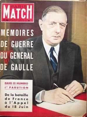 PARIS MATCH [No 289] du 09/10/1954 - AUDREY HEPBURN BOMBE ATOMIQUE ET BOMBE H CHEVAUX CINEMA DANSE ET DANSEURS DAVID OISTRAKH DUC PHILIPPE D'EDIMBOURG ETATS UNIS D'AMERIQUE - THEATRES - CINEMAS - MUSIC-HALL EUROPE OCCIDENTALE FRANCOISE SAGAN H.E. SALISBURY HOLLYWOOD HOWARD HUGHES HOWARD LOVECRAFT JEAN DUBUFFET JOSEPH CONOMBO LAURENTI BERIA LE GENERAL DE GAULLE MADELEINE ROBINSON MAITRE FLORIOT MARCEL CARNE MARQUIS DE CUEVAS MAURICE CHEVALIER MEL FERRER MME COCHERY PEINTURE ROLAND LESAFFRE