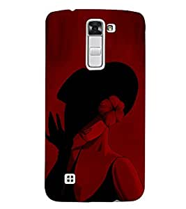 Negitive Vintage Fashion 3D Hard Polycarbonate Designer Back Case Cover for LG K7 4G Dual