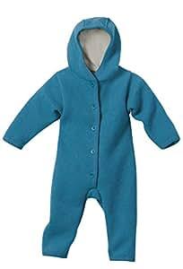 Disana 36102XX - Walk-Overall Wolle blau, Size / Größe:50/56 (0-3 Monate)