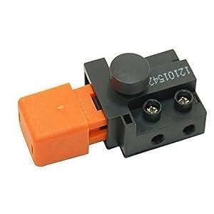 Interrupteur Marche/Arrêt compatible avec la Plupart des Tondeuses à gazon Flymo