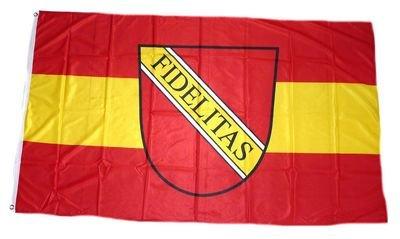 Fahne / Flagge Karlsruhe NEU 90 x 150 cm Fahnen