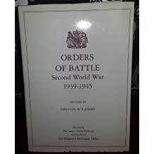 Orders of Battle: United Kingdom and Colonial Formations and Units in the Second World War, 1939-45