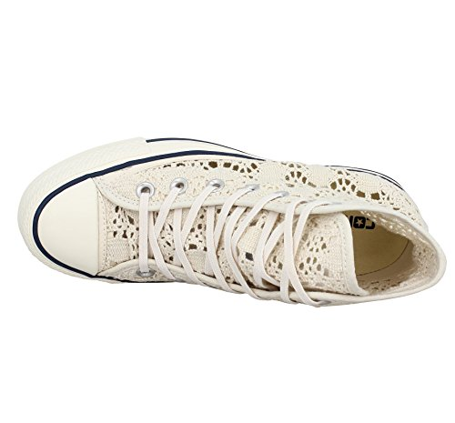 Converse Donna All Star Hi Sneakers stringate Beige