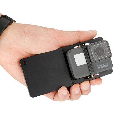 Adapter für GoPro-Aluminiumlegierungs-Montageplatte mit Gimbal-Adapter für GoPro Hero 7/6/5/4 / 3+, SJCAM und DJI OSMO Zhiyun Smooth 4 Q 3-Achsen-Handheld-Gimbal-Stabilisator -