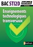 Enseignements technologiques transversaux - Term STI2D