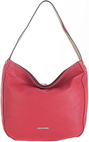 David Jones, Borsa a spalla donna Multicolore rosso large
