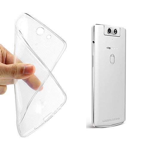 König-Shop Handy-Hülle für Oppo N3 durchsichtige Schutz-Hülle Transparent Silikon Slim Case Cover durchsichtig