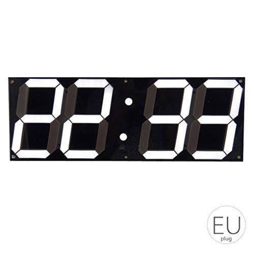 Gran Reloj Pared Digital LED Pantalla Control Remoto