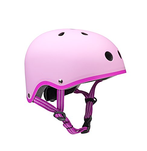 Micro Mobility Unisex Jugend Micro Helm, Pink, 53-57cm