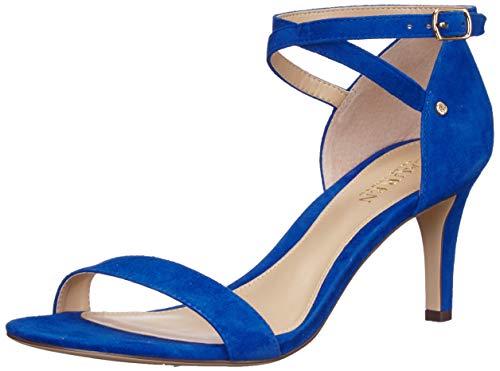 Lauren by Ralph Lauren Damen Glinda Sandalen mit Absatz, Cosmic Blue, 36 EU