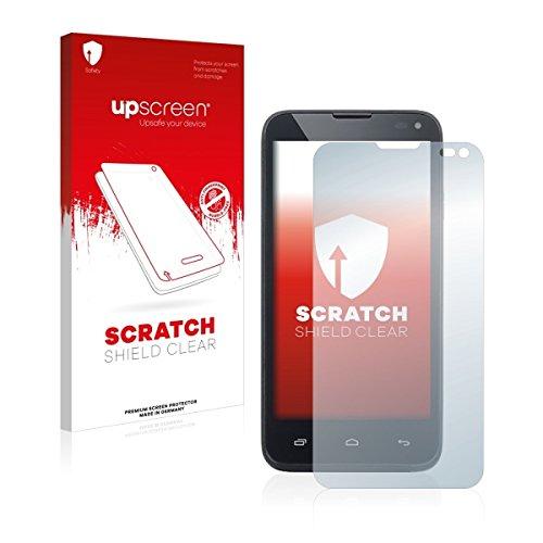 upscreen Scratch Shield Clear Bildschirmschutz Schutzfolie für Kazam Th&er 345 (hochtransparent, hoher Kratzschutz)