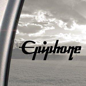 epiphone-guitar-black-decal-car-truck-bumper-window-sticker