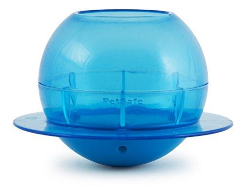 PetSafe Funkitty Katzenspielzeug Goldfischglas, Snackball gegen Übergewicht, für Katzen und Kätzchen