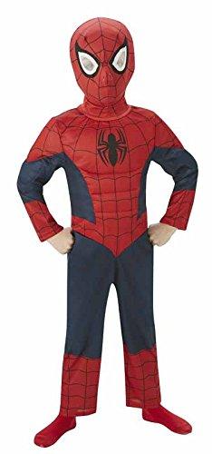 Rubie's it880874-s - ultimate spiderman costume, con muscoli, taglia s