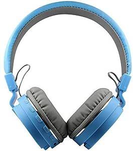Omniversal SH-12 Wireless Bluetooth On Ear Headphone with Mic (Blue)
