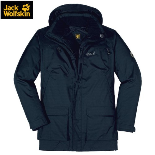 Jack Wolfskin NORTH COUNTRY PARKA MEN blue graphite