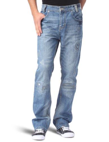 Globe  Angus Jean  Jeans Homme Blue Repair
