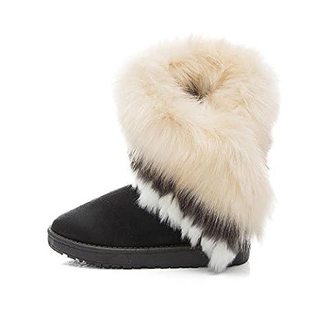 Bottes et boots,Transer® Mode femme haute qualité Chaussures de neige