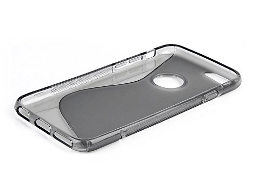 TPU Silikon Gel Haut grau Schutzhülle S-Line Sline für Apple iPhone 5Case Cover