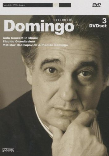 Preisvergleich Produktbild Placido Domingo - In Concert [3 DVD Set]