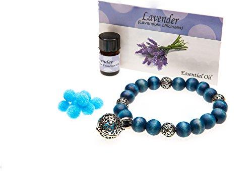 huile-essentielle-bracelet-bleu-fonce-en-perles-avec-huile-essentielle-de-lavande-gratuit
