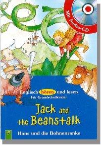 lk Hans und die Bohnenranke (Englisch hören und lesen Für Grundschulkinder) ()